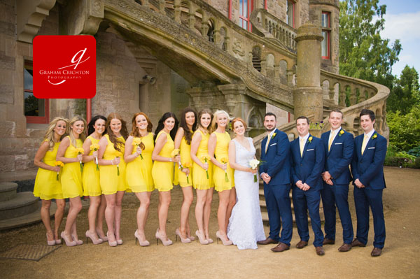 How to downsize your wedding party