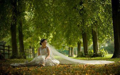 Autumnal St. Peter's Church Lurgan, Tannaghmore Gardens and Canal Court Newry Wedding: Grainne & Martin