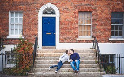 Autumnal Hillsborough Engagement shoot : Sara & Iain