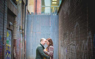 Belfast City Centre Urban Engagement shoot: Lindsay & Alan