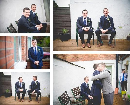 Wedding Morning Groom's house