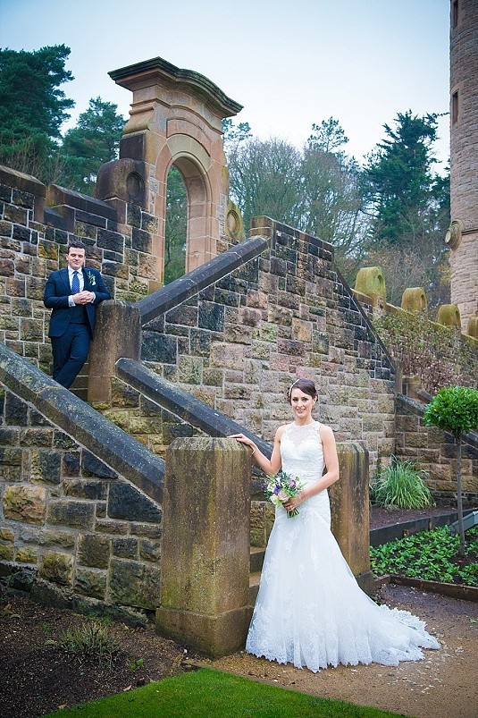 Belfast Castle Winter Wedding