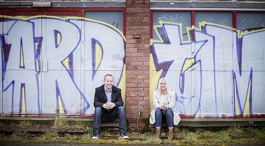 Urbex Urban Engagement Shoot Orangefield High School Northen Ireland