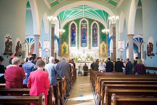 Warrenpoint wedding - St Peter's Church Warrenpoint