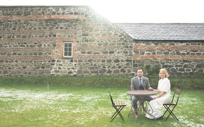 Limepark Cottages Rustic Winter Wedding: Michelle & Rory