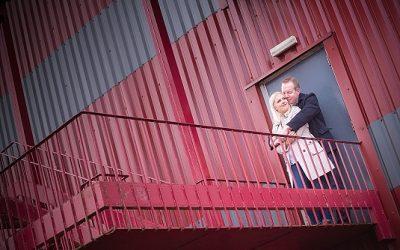 The Old Orangefield High School Urbex Engagement: Jaime & Craig