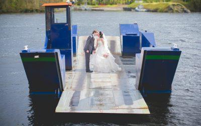 Lusty Beg Island Rainy Wedding Day: Julianna & Conan
