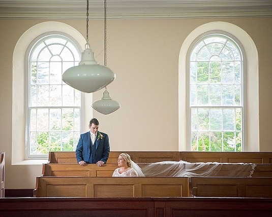 Killinchy Non-Subsribing Presbyterian Church Wedding