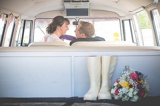 Summertime Rustic Larchfield Estate Wedding