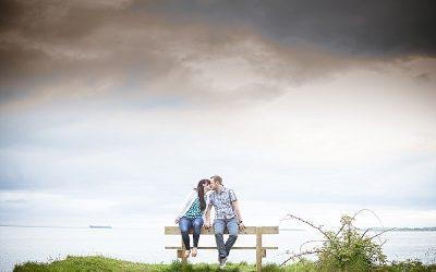 Seaside Helen's Bay Engagement: Clare & Thomas