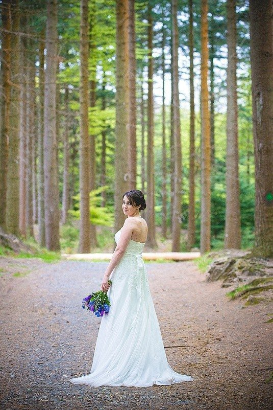 Fairytale Outdoor Tollymore Forest Wedding