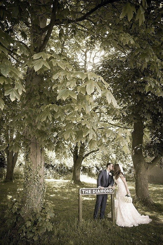Quirky Ulster Folk Museum Wedding