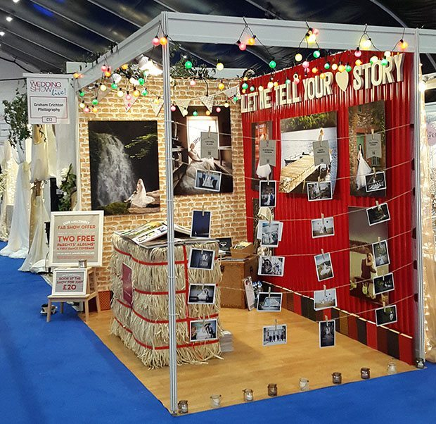 Ultimate bridal exhibition booth