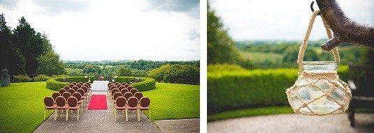 Outdoor Malone House Wedding