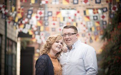 Autumn City Centre Engagement: Charlotte & Samuel