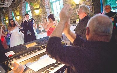 Classic Orange Tree House Grey Abbey Wedding: Victoria & Philip