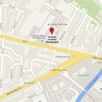 Map to Graham Crichton Photography studio