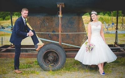 Quirky Comic Book Themed St. Mary's Church Strabane & Ballyliffin Hotel Wedding: Louise & Brendan