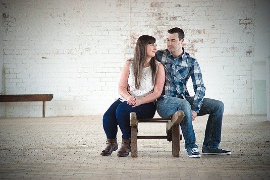 Abandoned Old Mill Engagement