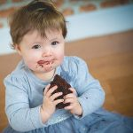 Baby Cake Smash First Year Birthday Session: Little Scarlett
