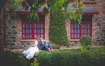 Colourful Eglantine Parish Church & Riverdale Barn Wedding: Rebecca & Jonathan