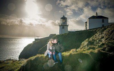 Coastal Snowy Whitehead Engagement: Alison & Michael