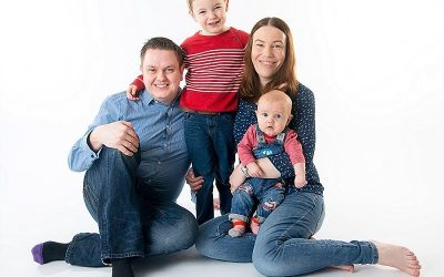 Belfast Family Portrait Photographer: The Goodall's