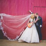 Colourful Rustic Themed Larchfield Estate Wedding: Alison & Michael