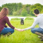 Dog Friendly Portavoe Reservoir Engagement: Gemma & David