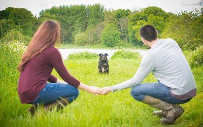 Dog Friendly Portavoe Reservoir Engagement: Gemma & David
