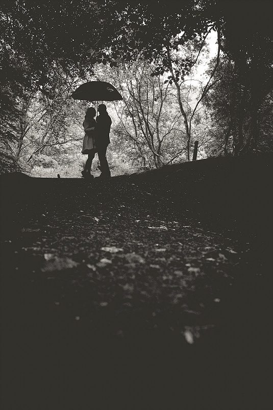 Quirky Rainy Parkanaur Engagement