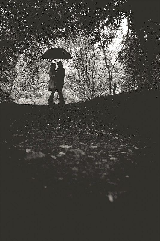 Quirky Rainy Parkanaur Engagement