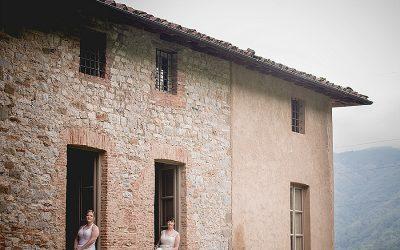 Sneak Peek: Idyllic Italian Tuscany Wedding: Mary & Sue