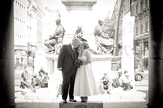 Homemade intimate wedding