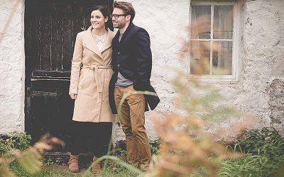 Autumnal North Coast Murlough Bay Engagement Shoot : Caroline & Niall