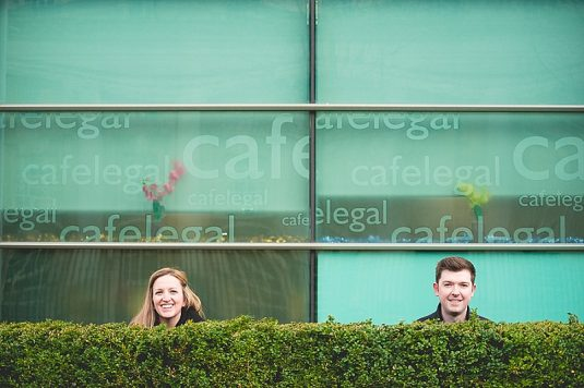 urban Belfast City Centre Engagement shoot