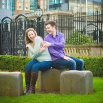 Winter Urban Belfast City Centre Engagement: Rory & Rachel