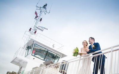 Elegant Country St. Mary's Star of the Sea Church and Darver Castle Wedding: Kathryn & Paul