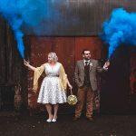 Graham and Hannah Crichton on their wedding day