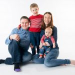 Northern Ireland family portrait photographer in Belfast