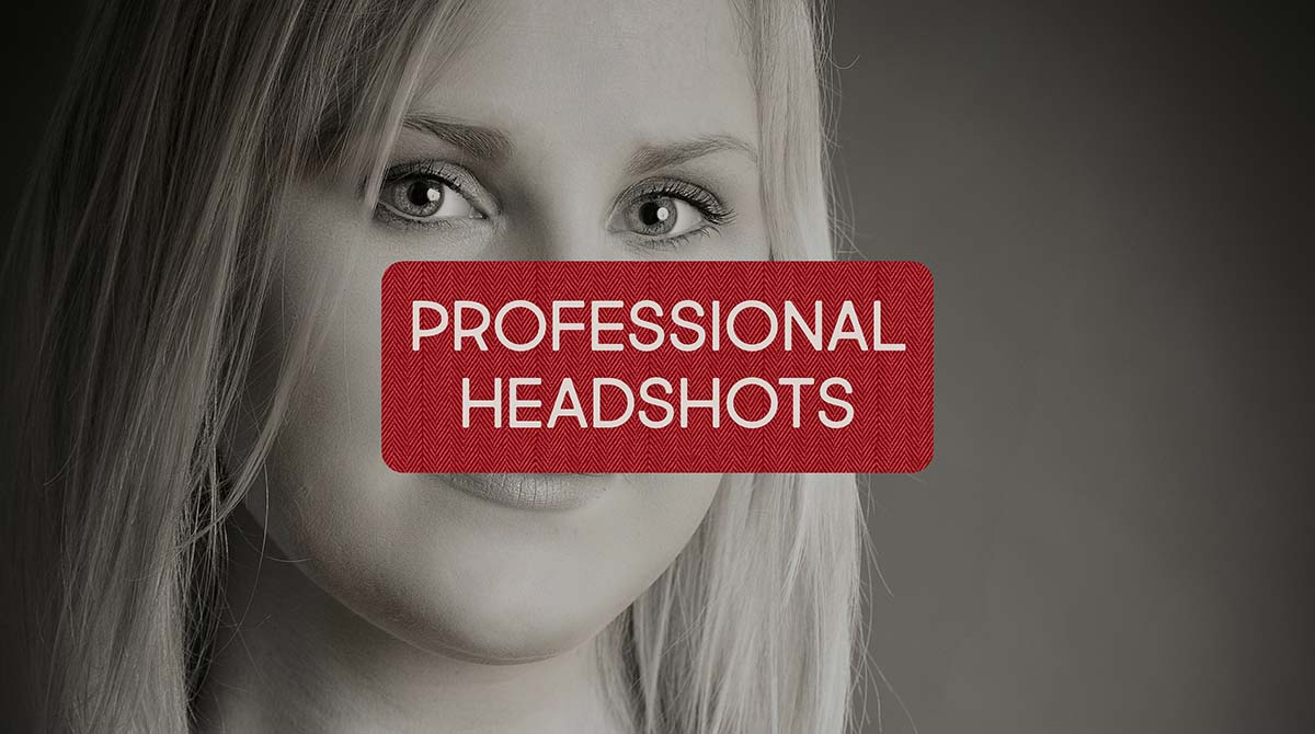 Professional headshots for LinkedIn and for actor portfolios
