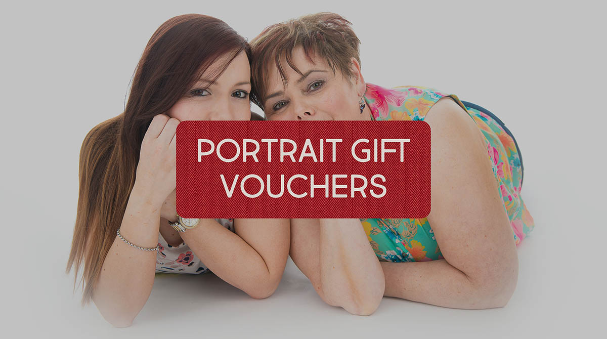 Portrait gift vouchers from £20