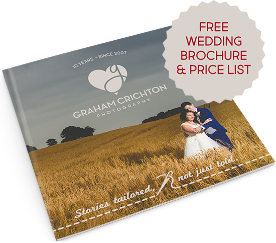 Wedding package brochure