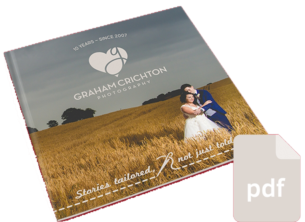 Get the wedding package brochure