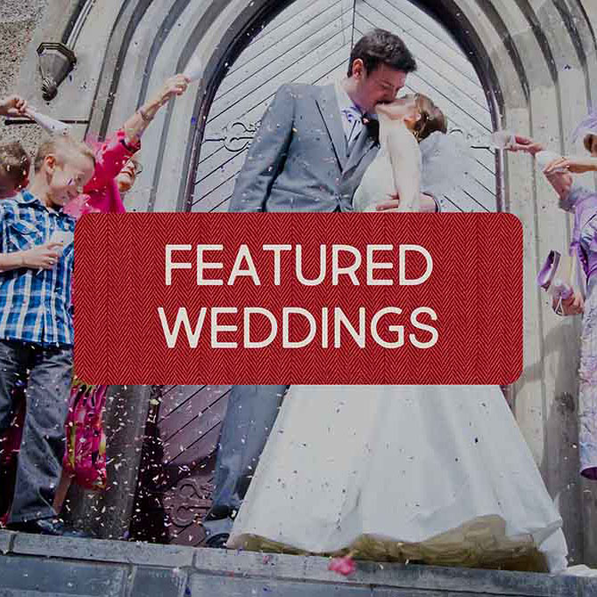 Featured weddings and venues