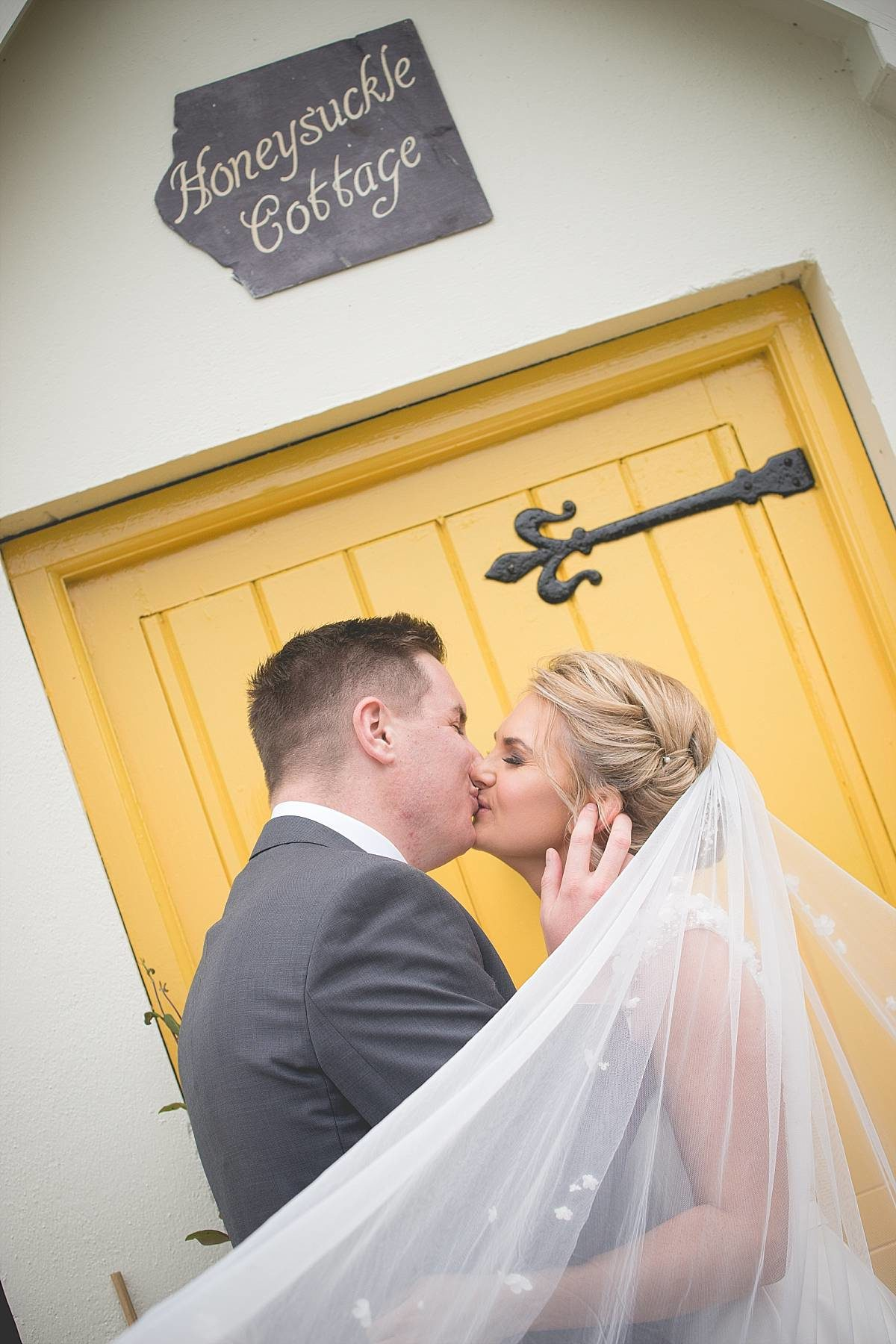 Bride and Groom at Culloden Hotel and Spa