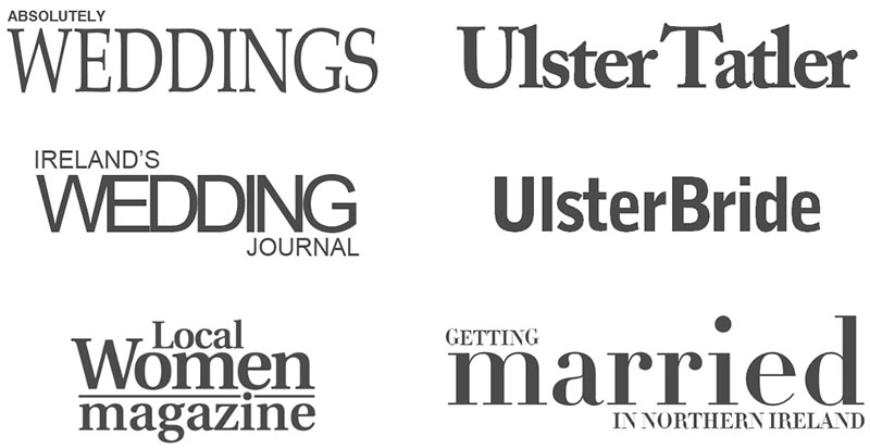 Published wedding photographer in Northern Ireland