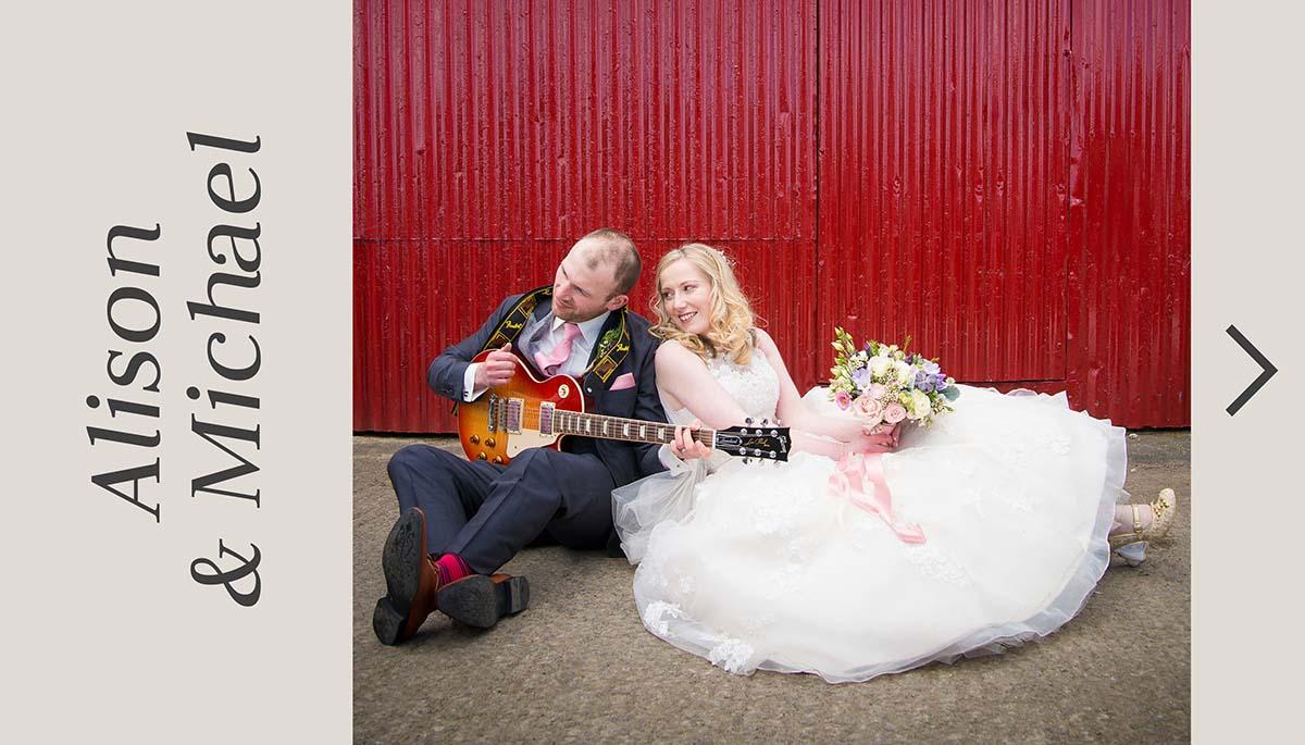 Larchfield Estate wedding photographs