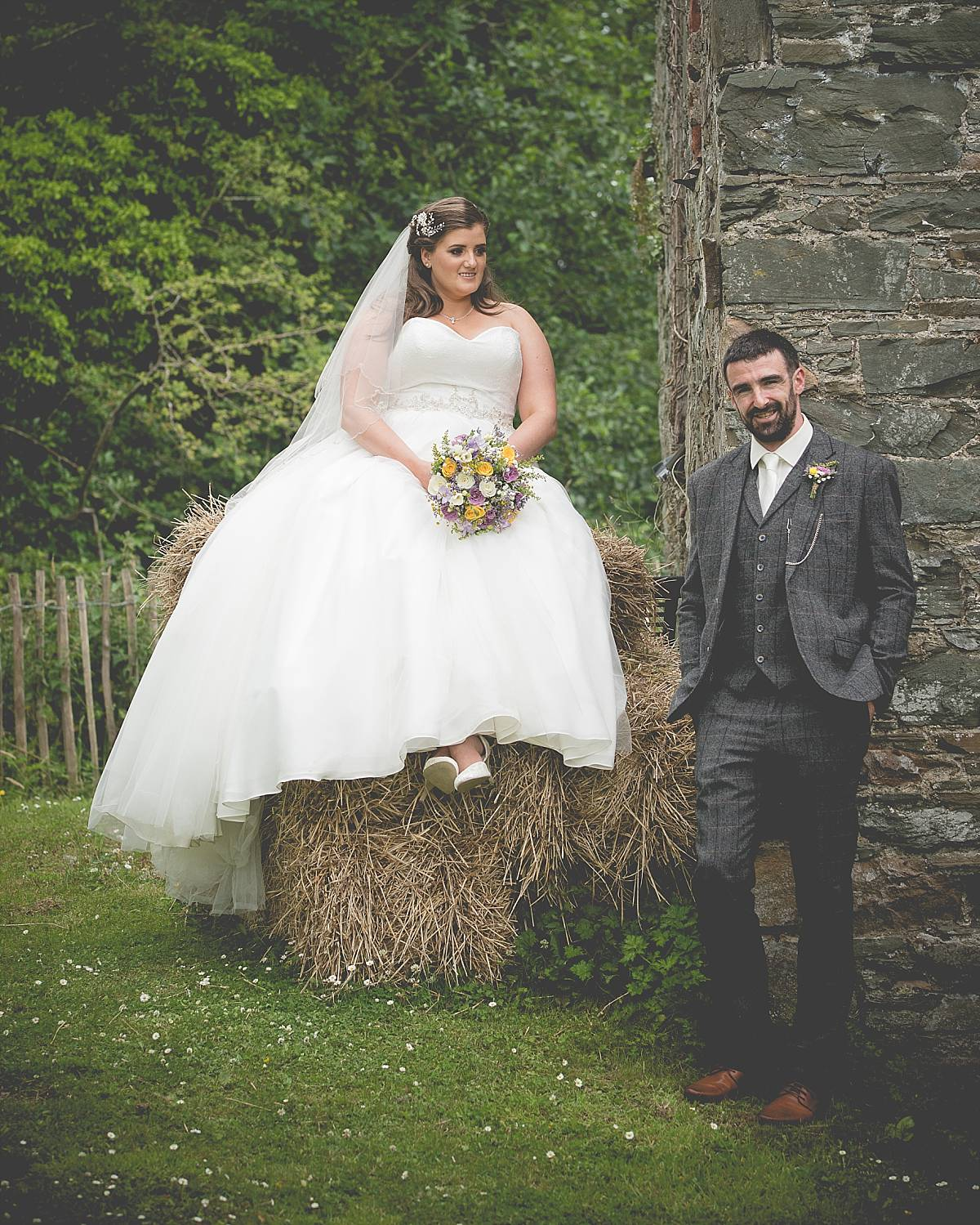 Relaxed Rustic Mill at Ballydugan Wedding: Grace & Terry