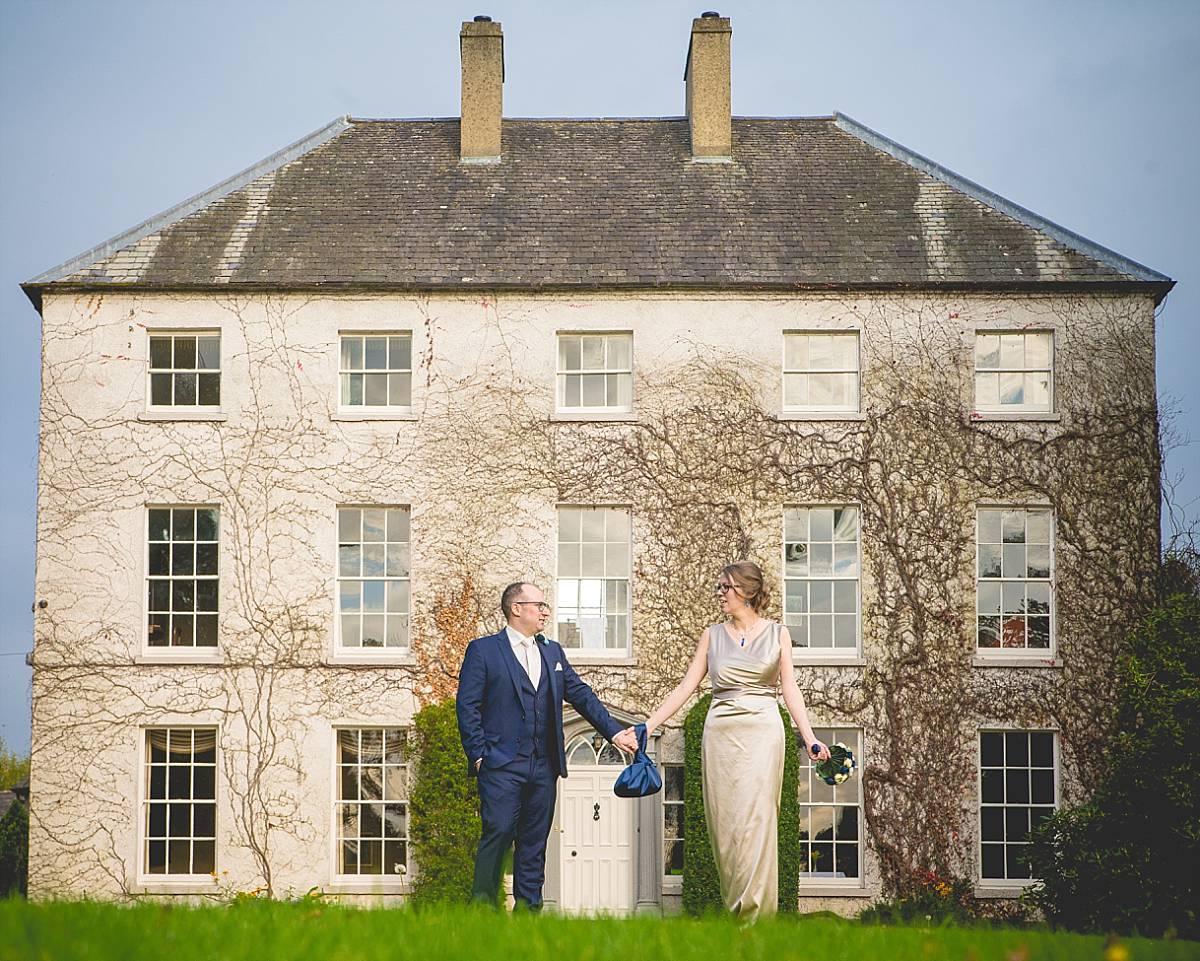 Northern Irish Elopement Newforge House Wedding: Karen & Mark